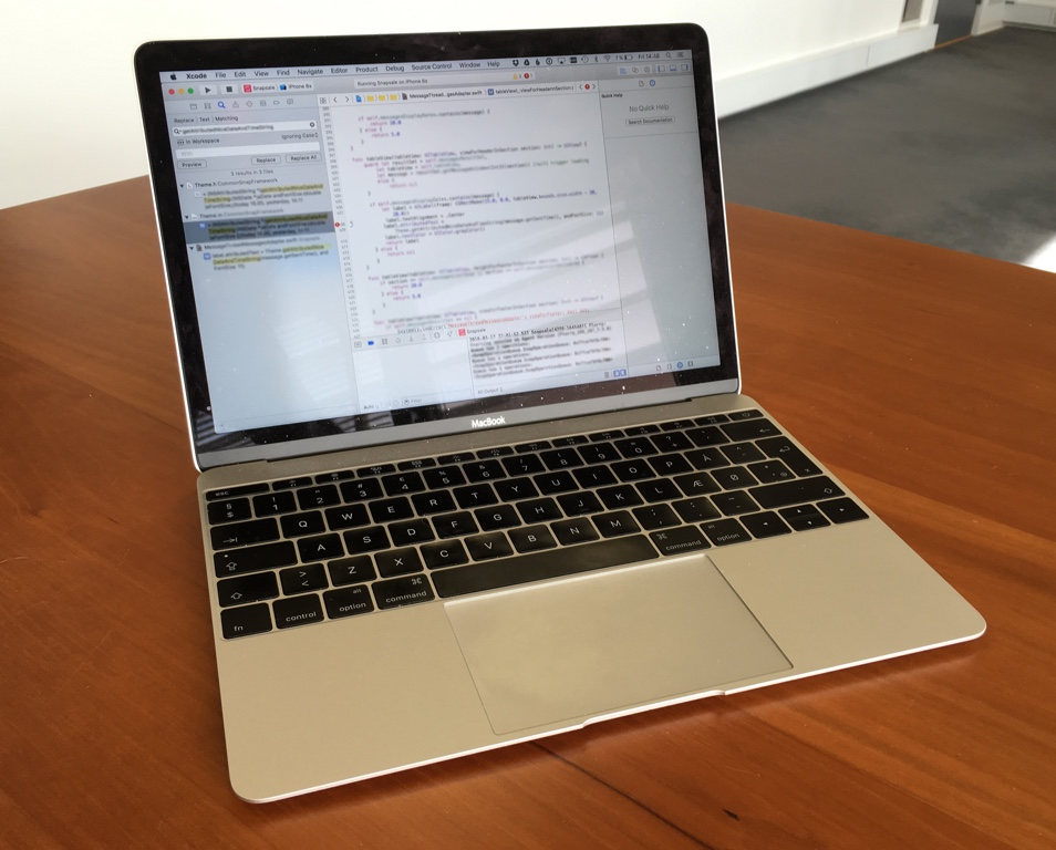 Macbook and Xcode