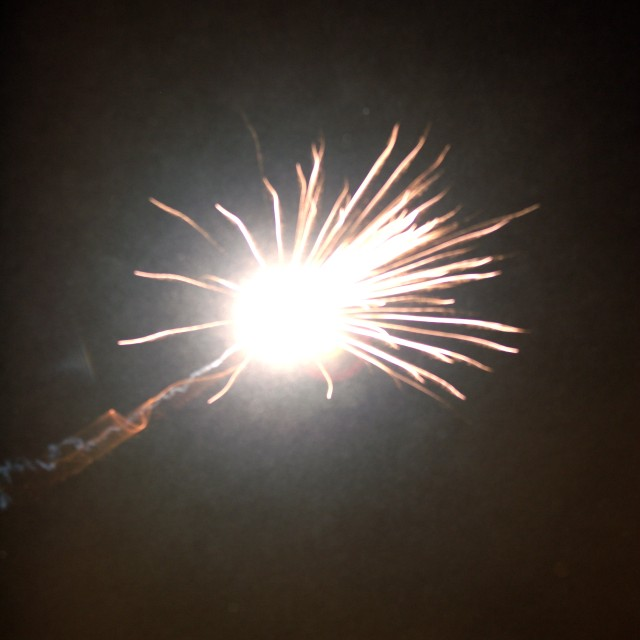 New Years Rocket